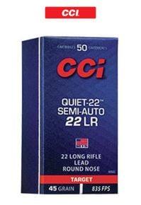 Munitions-CCI-Quiet-22 LR-Ammunitions