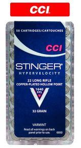 CCI 22 LR Stringer Cartridges