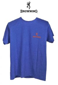 Buckmark-RoyalBlue-Orange-T-shirt
