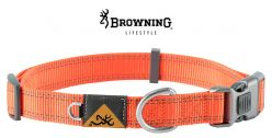 browning-classic-safety-orange-webbing-dog-collar-m