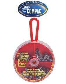 Compac Removable Split Shot Sinkers