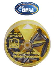 Compac Rubber Core Sinkers