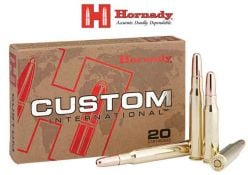 Hornady-CustomInternational-308Win-Ammunitions