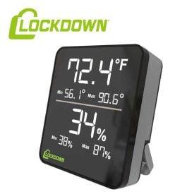 Lockdown-Digital-Hygrometer