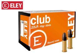 Eley Club 22 LR 40 gr Ammo