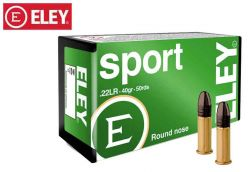 Munitions Eley Sport 22 LR 40 gr