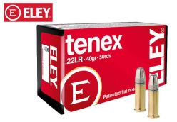Munitions Eley tenex 22 LR 40 gr