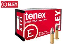Eley tenex Pistol 22 LR 40 gr Ammo