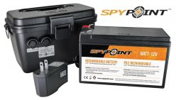 Spypoint-Rechargeable-12V-battery-Charger-Housing-Kit
