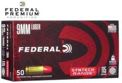 Federal Syntech Range 9mm Luger Ammunitions