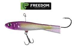 Freedom-Tackle-Trunback-Shad-1.25''-purple-Vertical-Jig