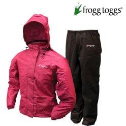 Frogg Toggs - All Purpose Women Pink /Black - Rain Suit