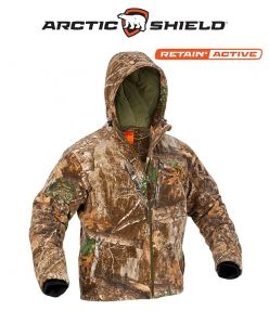 Arctic Shield Heat Echo Sherpa Jacket Realtree Edge