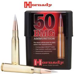 Munitions 50 BMG 750 gr A-MAX® Match™ d'Hornady