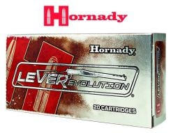 Munitions LEVERevolution 45-70 Government  325 gr FTX d'Hornady