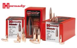 Hornady-6.5 mm-140-g-.264''-BTHP-Match-Bullets