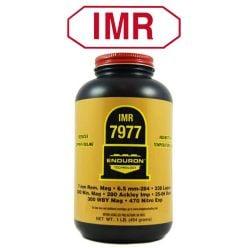 Poudre sans fumé pour la carabine 7977 d'IMR