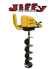Jiffy PRO II LECTRIC Model 53 12 Volt DC 6 Power Ice Drill