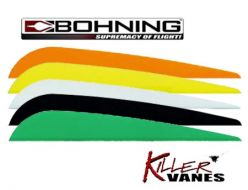 Bohning Killer-Vanes  4'' pack of 100 Vanes