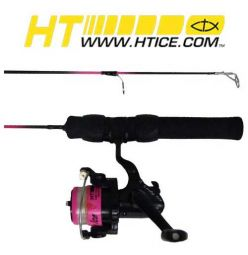 Hi-Tech Fishing Lady Ice Combo 25''