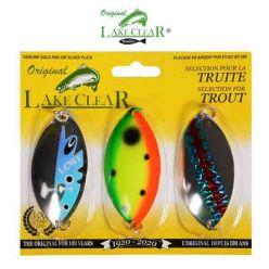 Lake Clear 3 Wabbler Spoons Kit