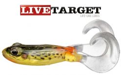 Live Target 3.5'' Freestyle Frog Lure black