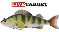 Live Target 8'' Perch Swimbait