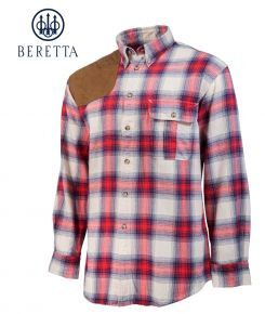 Beretta-Hovis-Beige&Red-Shirt