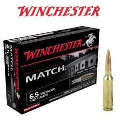 Munitions-Winchester-Match-6.5-Creedmoor-140-gr.