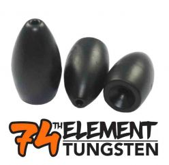 74th Element Tungsten 1 1/4 oz Motar Shell Matt Black