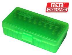MTM Case-Gard P50-38 Series Handgun Ammo Box