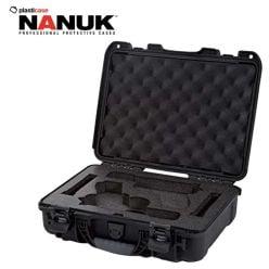 Étui-pistolets-Nanuk-910-Glock-2-Up-Noir