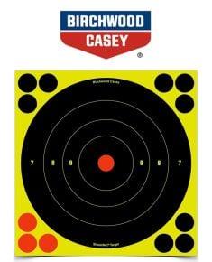 8''-Paper-Targets-Bull's-Eye