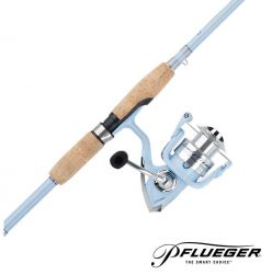 Ensemble canne et moulinet Pflueger Lady Trion 6'6'' 35 Spinning