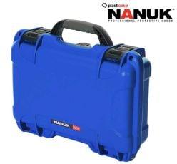 Nanuk-909-Blue-Glock®-Pistol-Case