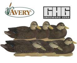 Avery-Pro-Grade-FFD-Black-Harvester-Pack-Duck-Decoys
