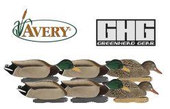 Avery-Pro-Grade-FFD-Mallards-Feeder-Pack-Duck-Decoys
