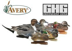 Avery-Pro-Grade-Puddler-Pack-II-pack-6-Duck-Decoys