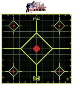 Pro-Shot-Products-12''-SplatterShot-Green-Sight-In-Targets