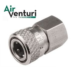 "Air Venturi Foster Quick Disconnect Female to 1/8"" BSPP"
