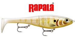 "Rapala X-Rap Petro 8"" Pearl Ghost Gold Lure"