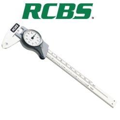 Vernier à cadran en acier inoxydable de RCBS