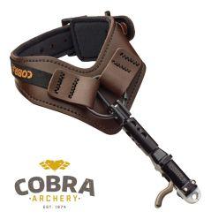 Déclencheur-Cuir-brun-Cobra