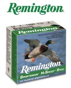 Remington Sportsman Hi-Speed Steel 12 ga 3'' #BB Ammo