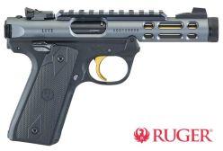 Ruger-Mark-IV-22/45-Lite-Grey/Gold-22-LR