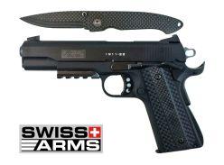 Pistolet-couteau-SA1911-SwissArms