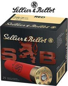 Seller & Bellot 28ga 2 3/4'' Red Ammo