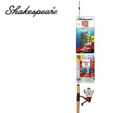 Shakespeare Catch More Fish Bass 6'6'' Spinning Combo