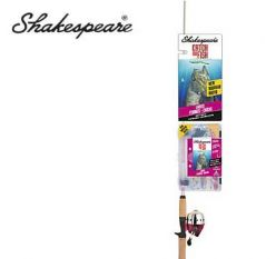 Shakespeare Catch More Fish ladies 5'6'' Spincast Combo