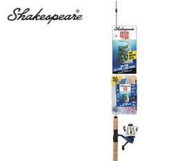 Shakespeare Catch More Fish Lake Pound 6' Spinning Combo